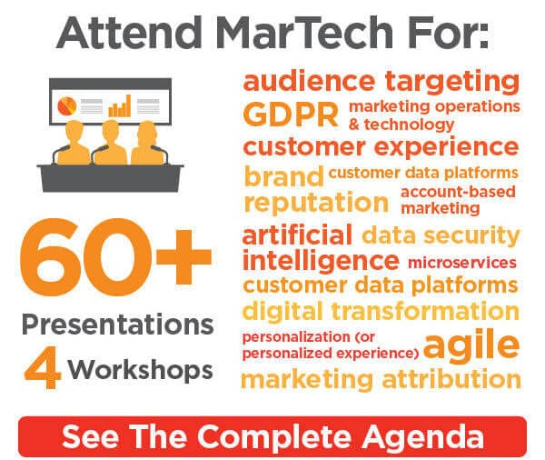 Hurry, lowest rates for MarTech won't be around for long!