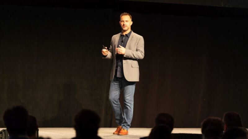 Entrepreneur Alistair Croll wraps MarTech East 2018 by imploring marketers to be 'just evil enough'