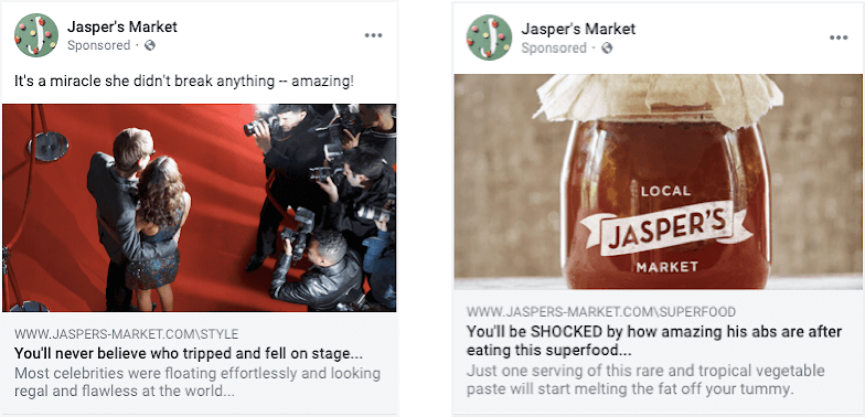 Facebook cracking down on ads with clickbait headlines, sensationalized language